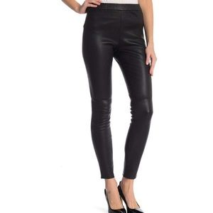 Theory med stretch leather legging NWT $995
